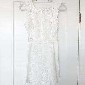 Dresses & Skirts - White lace/eyelet dress
